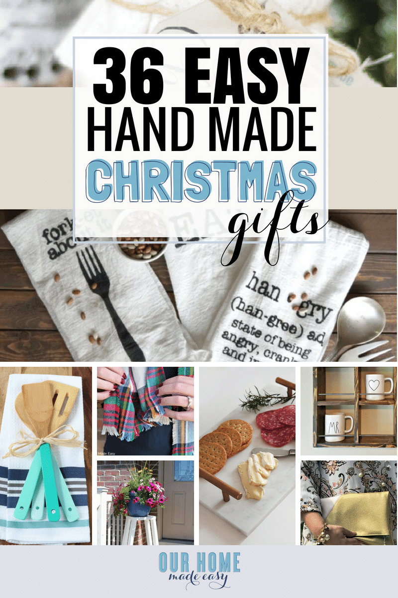 The Easiest Christmas Homemade Gifts • Our Home Made Easy