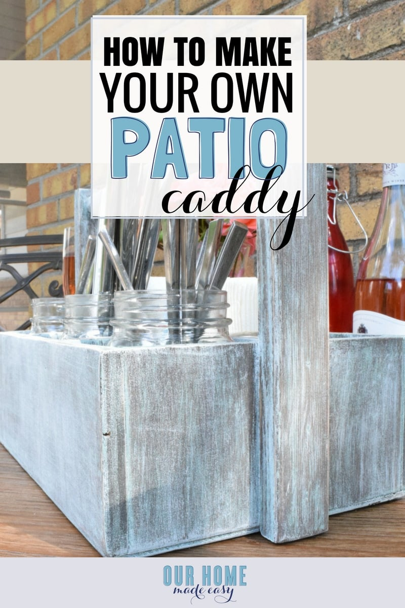 DIY Patio Caddy for BBQs or Tailgates