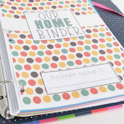 6 Free Autumn Home Binder Covers