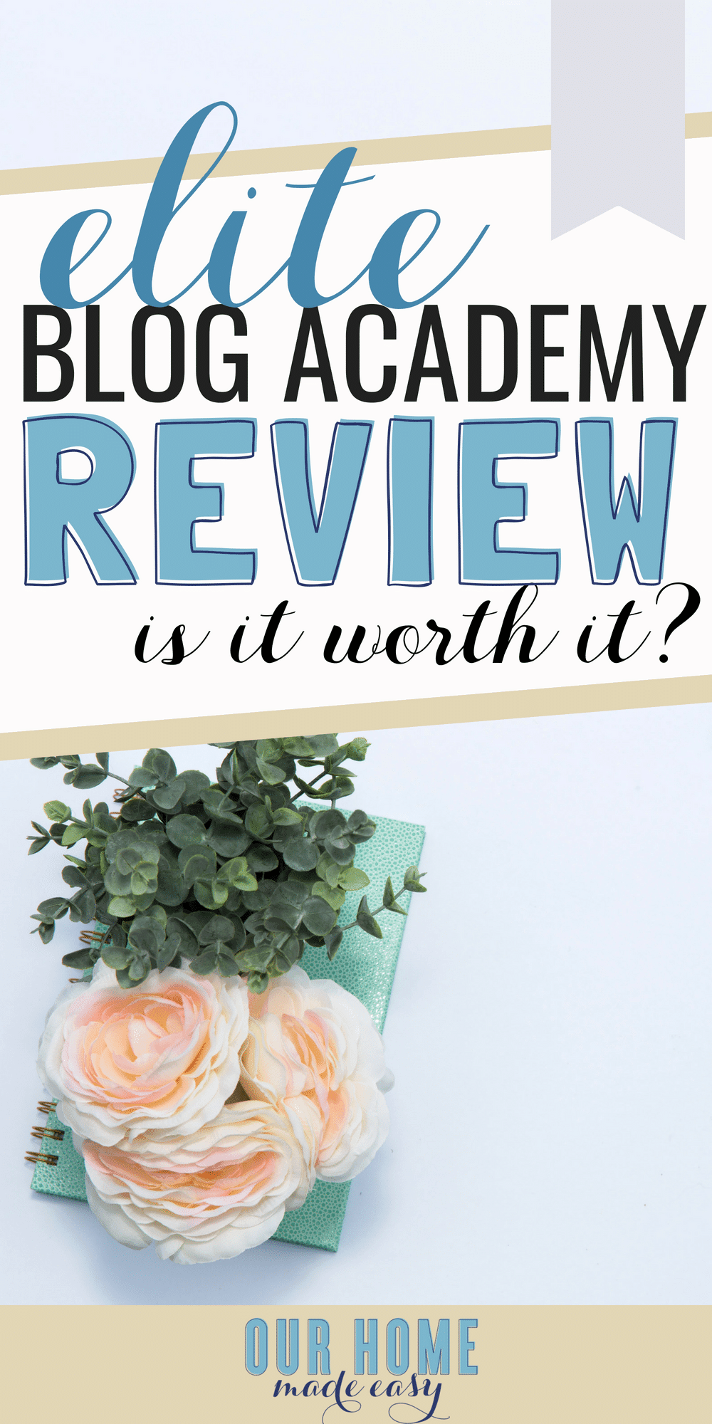 Make money with your love for DIY & crafting with Elite Blog Academy. I'm sharing my experience and how you can earn an income doing what you already enjoy!  #blogging #blog