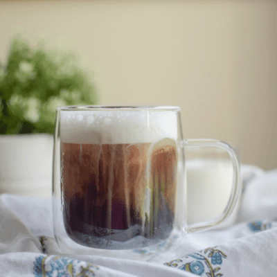 Copycat Starbucks Salted Cream Cold Foam Cold Brew