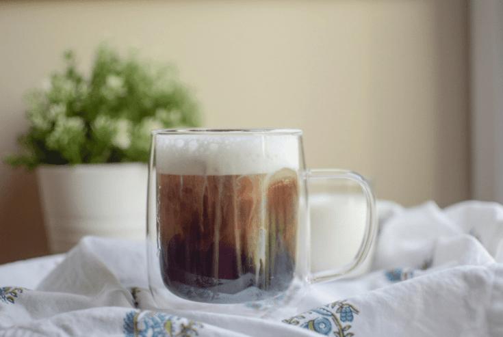 Copycat Starbucks Salted Cream Cold Foam Cold Brew