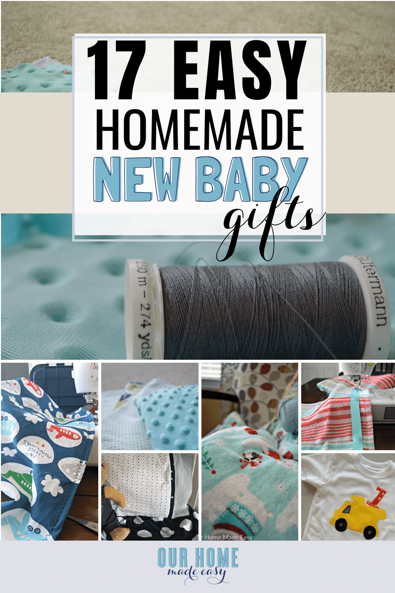 Cute homemade baby gift ideas