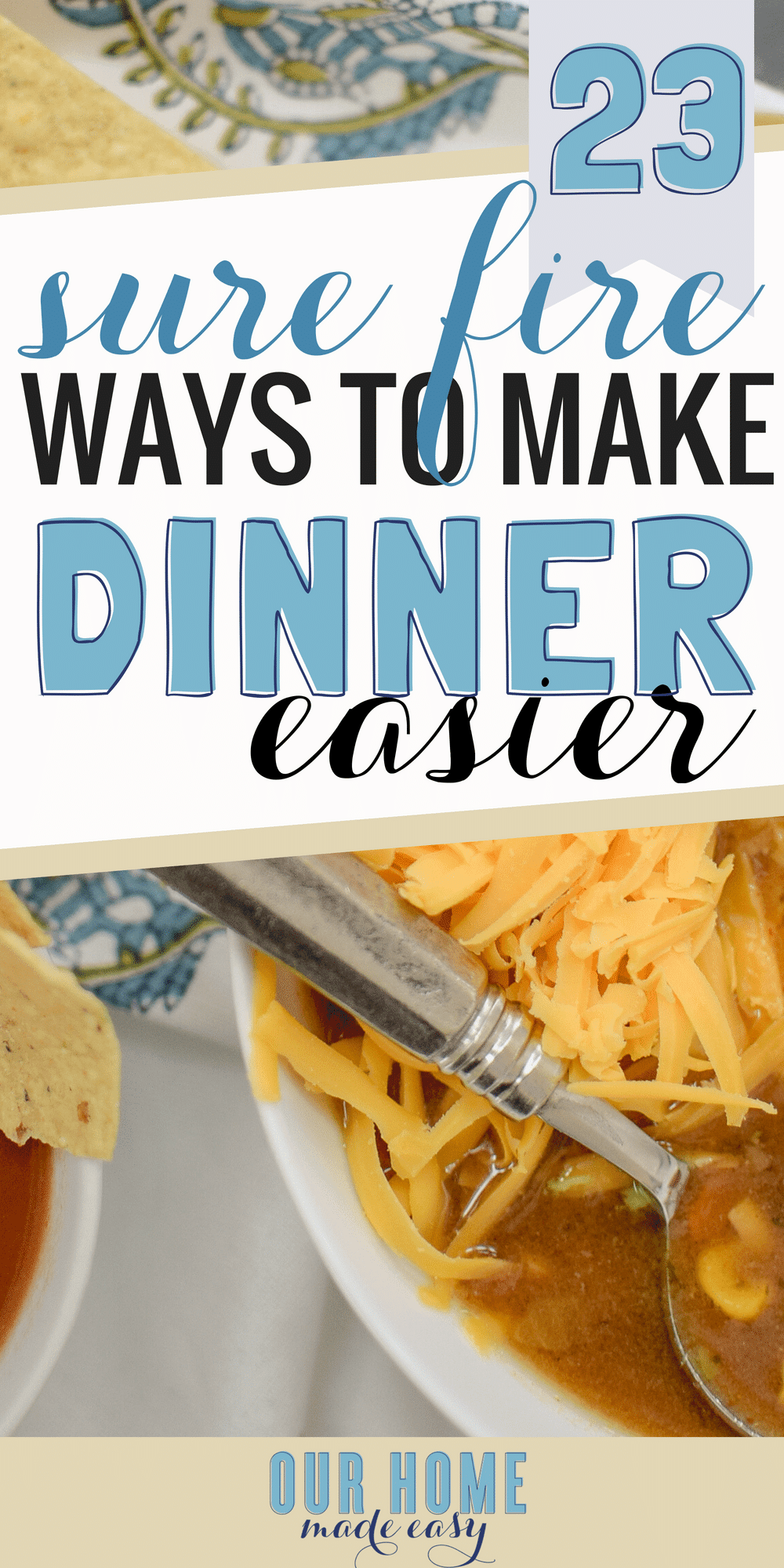 The best food bloggers are sharing their advice on how to make dinner easier during the week! They are sharing their best busy mom advice & recipes! #dinner #recipe #dinnerrecipes #workingmom #momlife