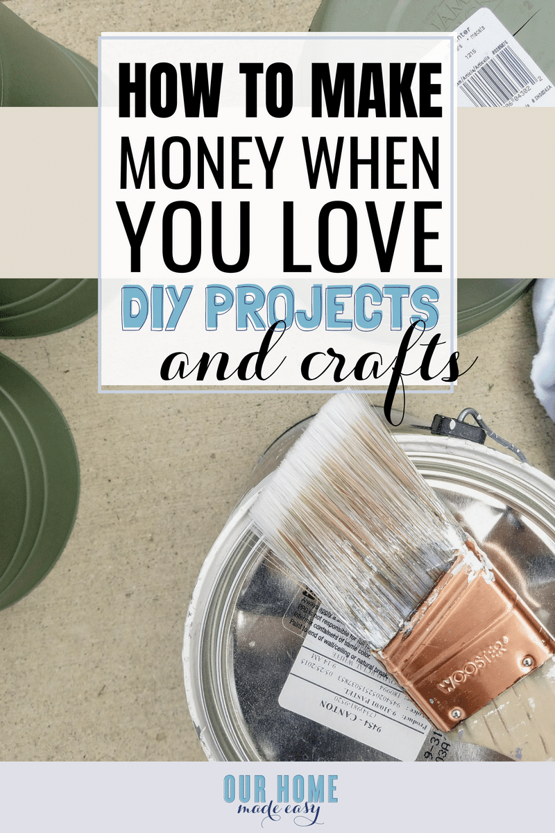 Make money with your love for DIY & crafting with Elite Blog Academy. I'm sharing my experience and how you can earn an income doing what you already enjoy!
