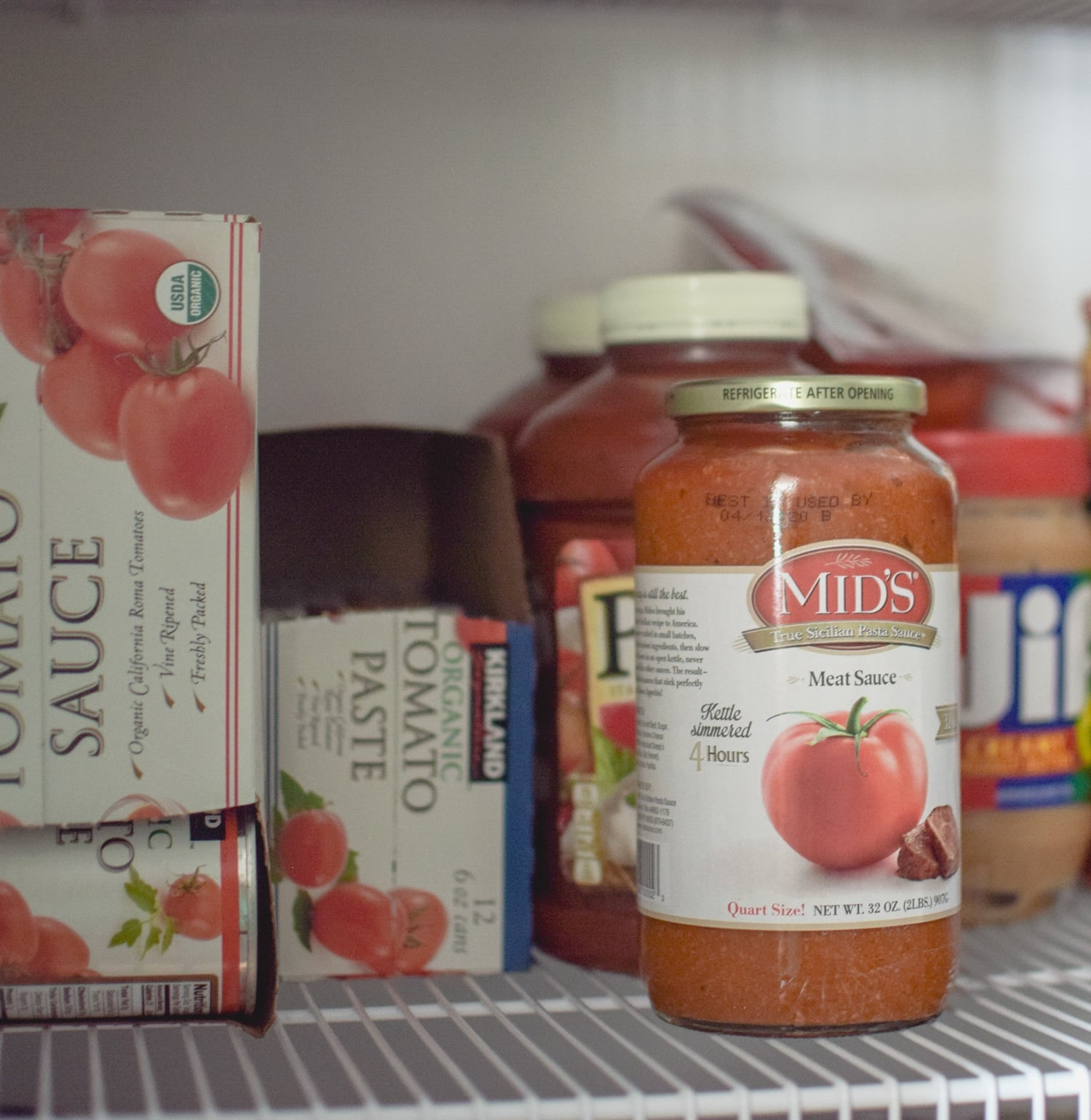 Pasta sauce and tomato paste are two pantry staples that are perfect ingredients for many last minute dinner ideas