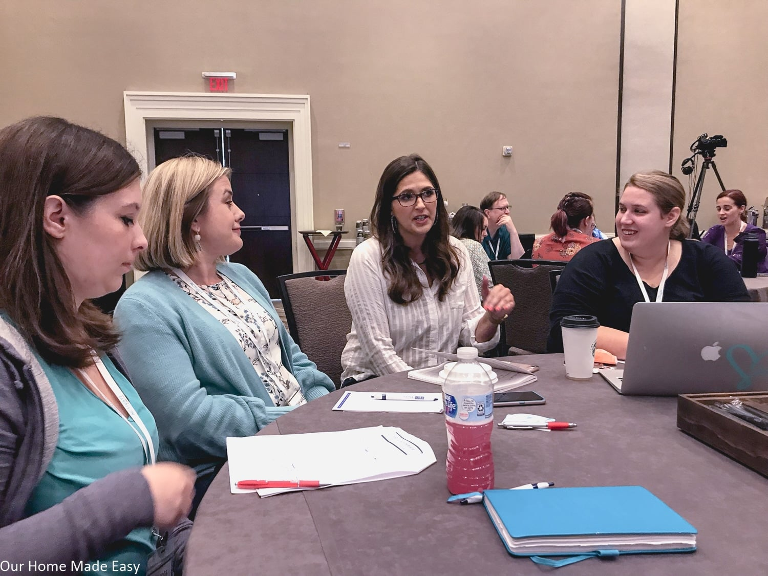 Brittany with Ruth Soukup and other bloggers at Activate EBA Life