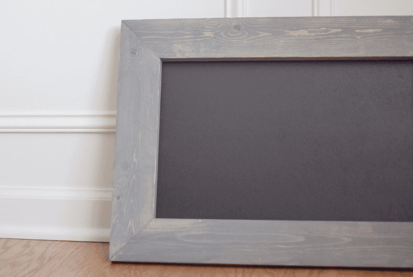 How to Make a DIY Chalkboard Sign