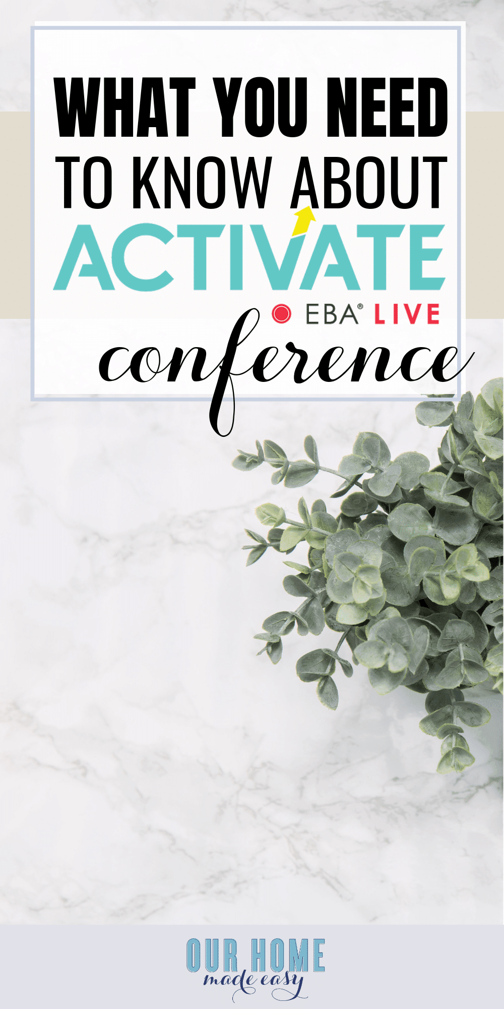 Learn more about Elite Blog Academy's Activate conference! Here is what I learned from the event and why it's so important to attend blogging conferences! #blogger #eba #blog #business #conference #bloggers