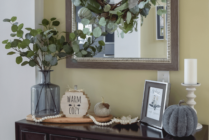 Fall Entryway Decor Tour