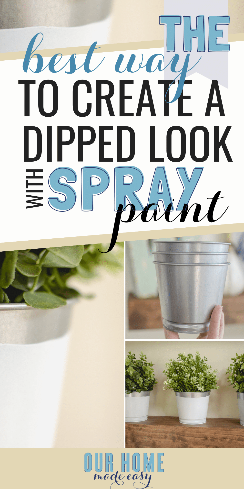 DIY your own dipped paint look but without the mess! Use Plasti Dip Crafts to make a fun new project that is super easy and removable! #sponsored #crafts #diycraft #paint #farmhouse #plastidip
