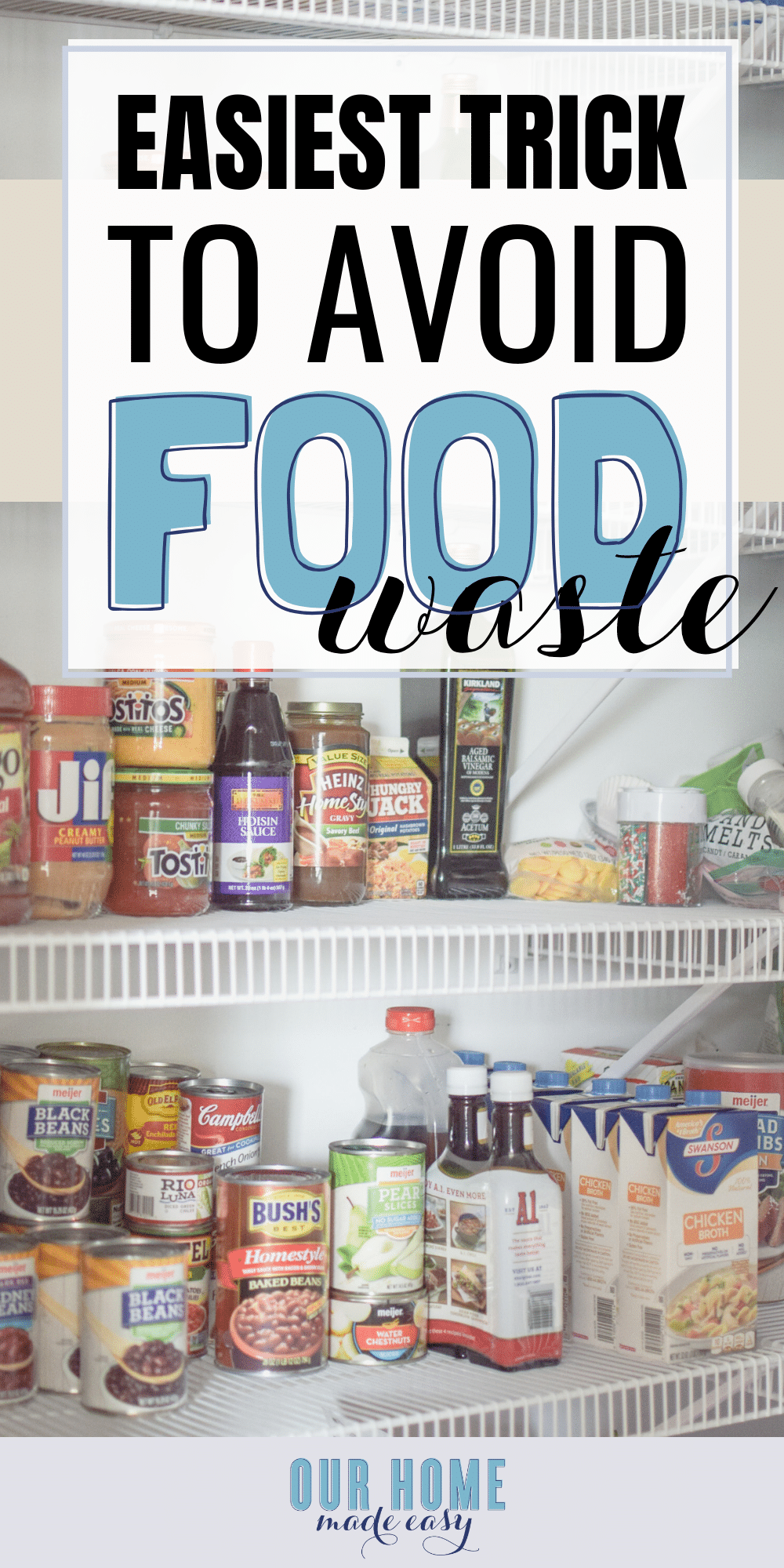 Avoid food waste with this easy mom hack. Now you can skip right to dinner the next time you're exhausted-- and you're not wasting an food too! #mealplanning #food #dinner #recipes #mealprep