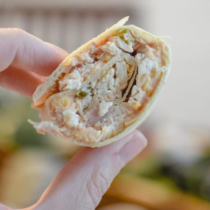 Chicken Tortilla Roll Ups