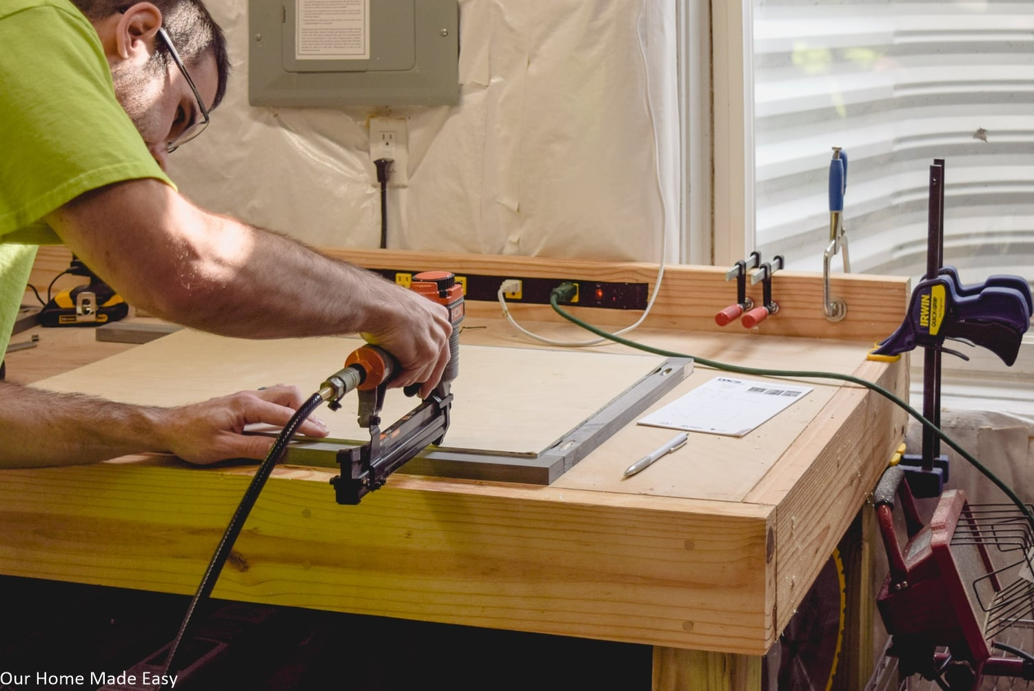 Sometimes DIY projects fail because you don't have the skills needed, like for complicated woodworking projects