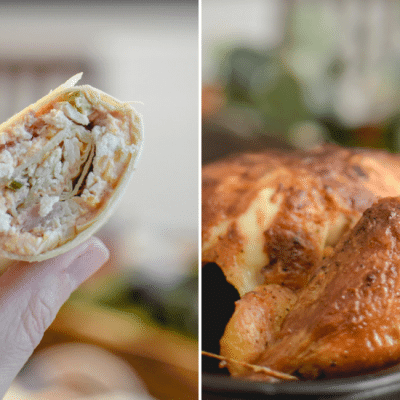 Chicken Tortilla Pinwheel Roll Ups