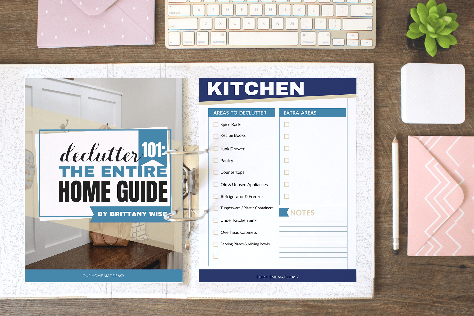 Our Declutter The Entire Home Guide is a handy tool to have when you're trying to get your home ready to sell