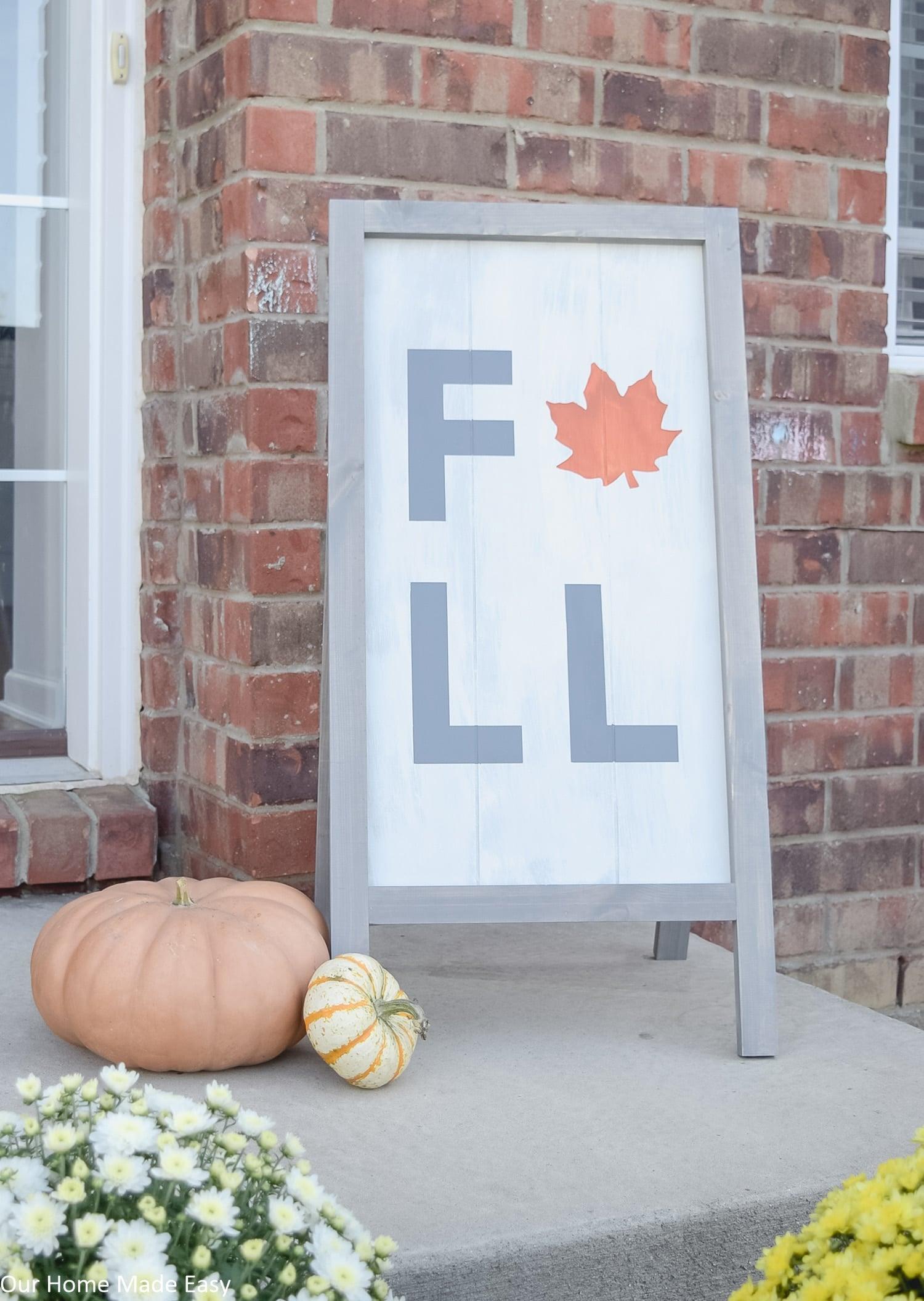 Farmhouse Wood Sign Custom Wood Sign Fall Wood Sign Signs for Fall Fall Wood Decor Fall Home Sign