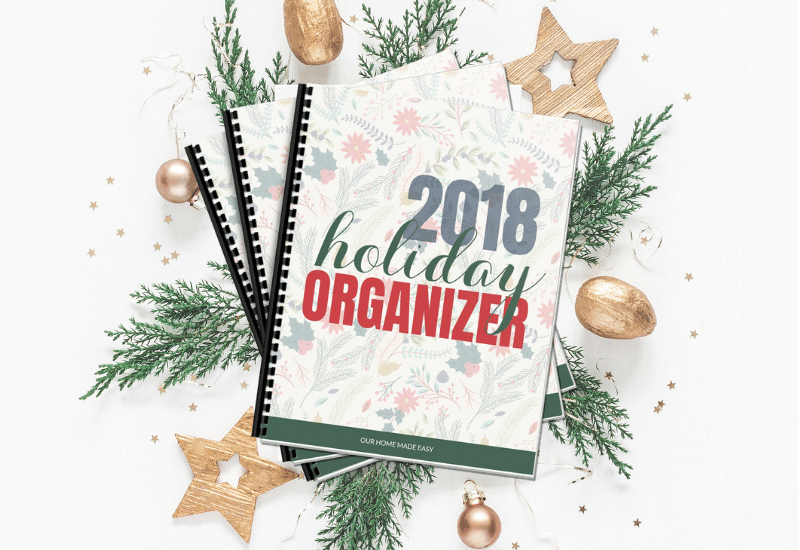 The 2018 Holiday Organizer is Here!