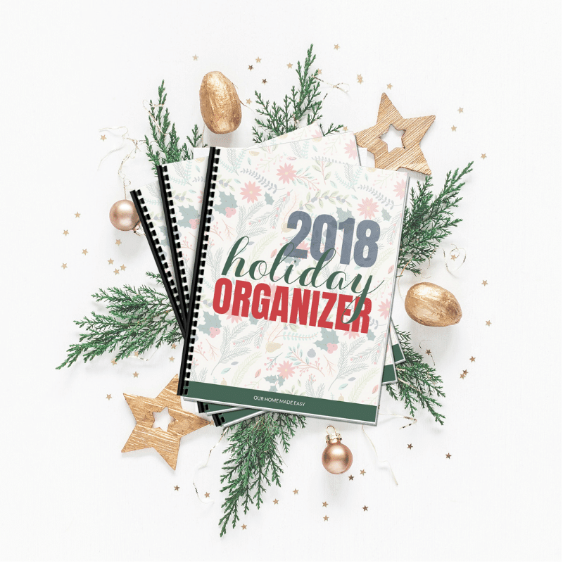 get the free holiday organizer today