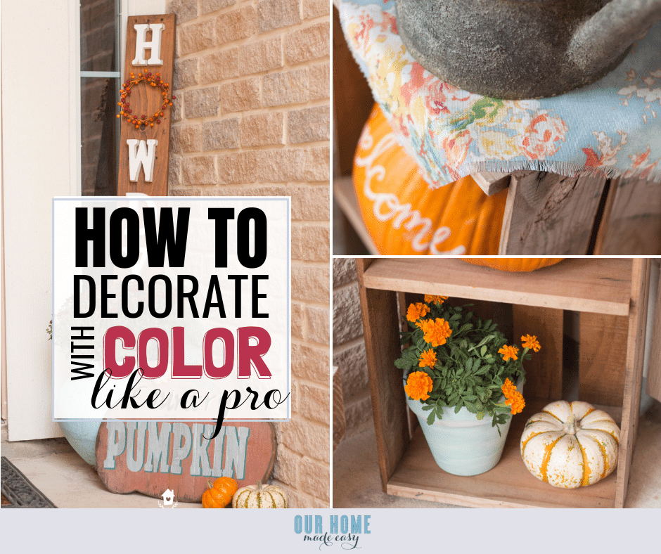 6 Easy Ways To Decorate Your Front Porch With Color
