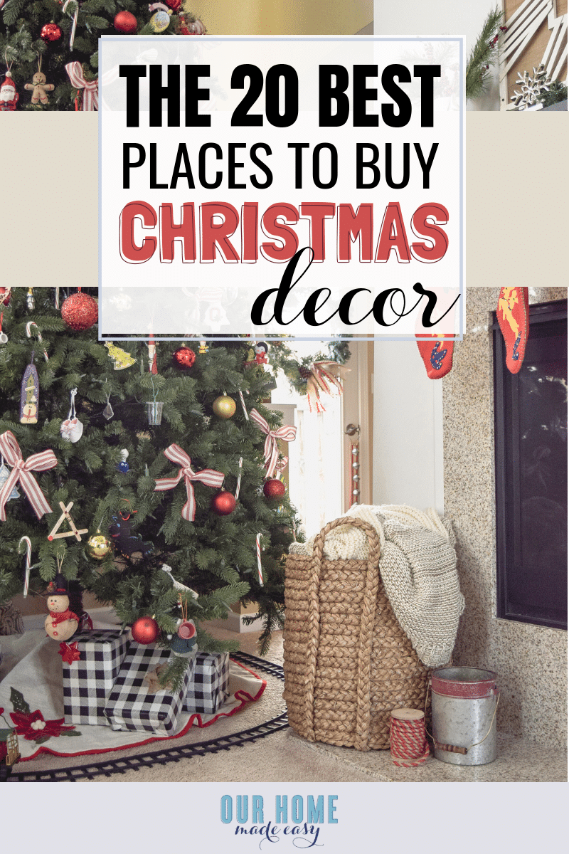 here are the 20 best places to buy christmas decorations no matter your style or