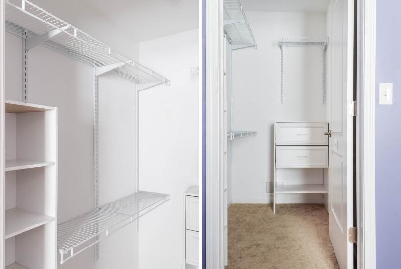 DIY Small Bedroom Closet Organization Reveal – Our Home Made ...