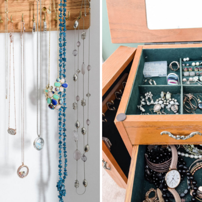 DIY Ideas on How to Organize Your Jewelry