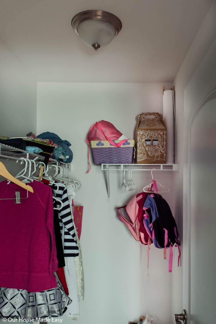 There's nothing more overwhelming than a small, disorganized closet.