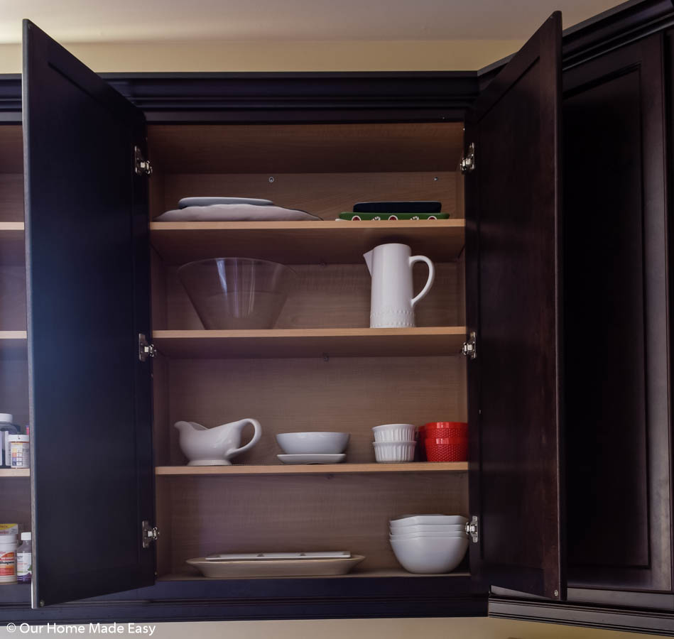 cooking and servingware should be stored closer to where your cooking is done