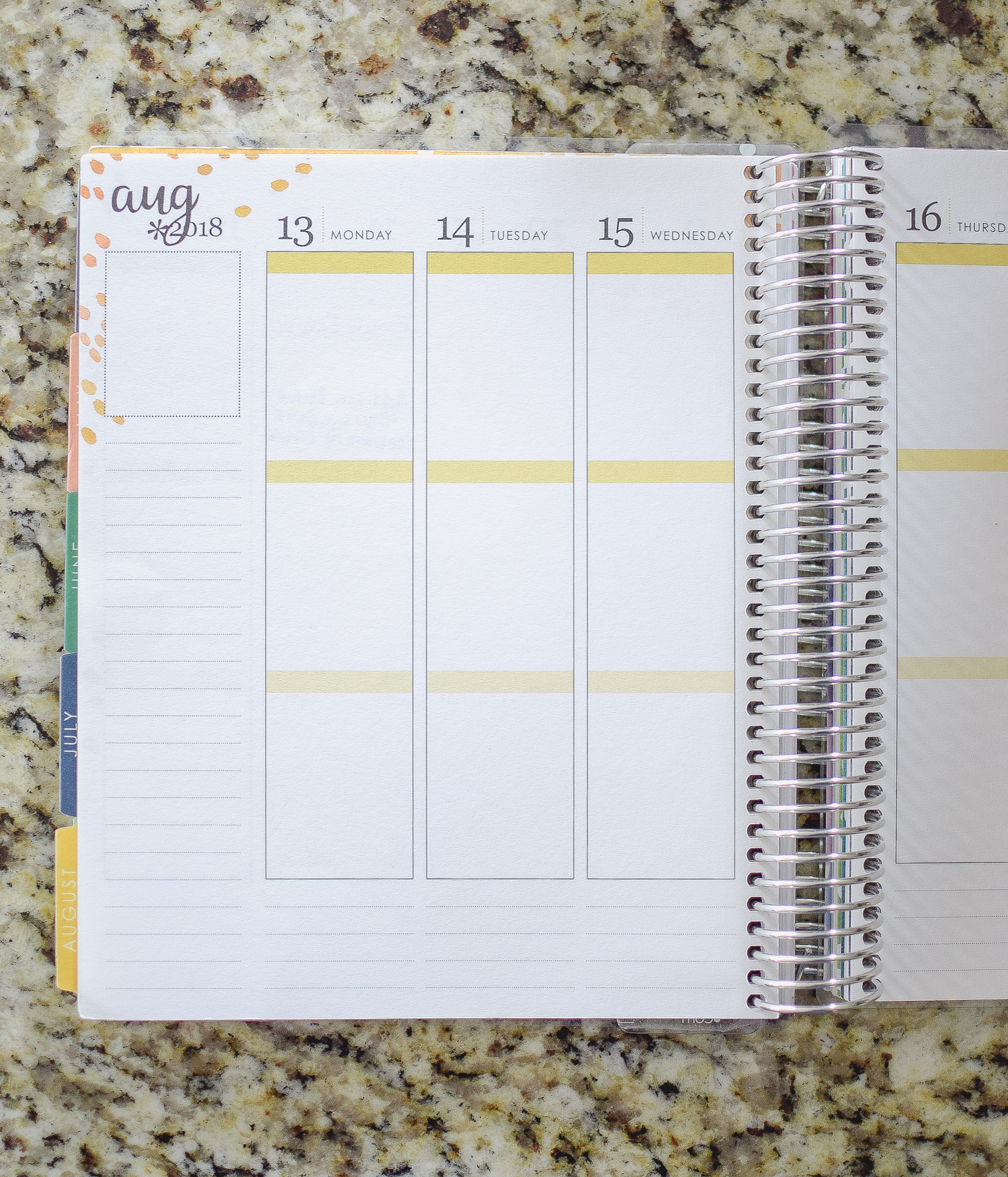 Paper planners are great for those who like to have a physical planner to schedule and organize their days.