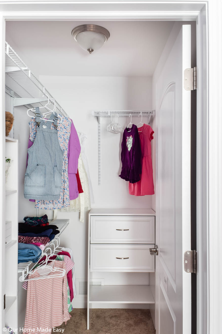 Decluttering your closet it a great place to start when you're preparing to sell your home