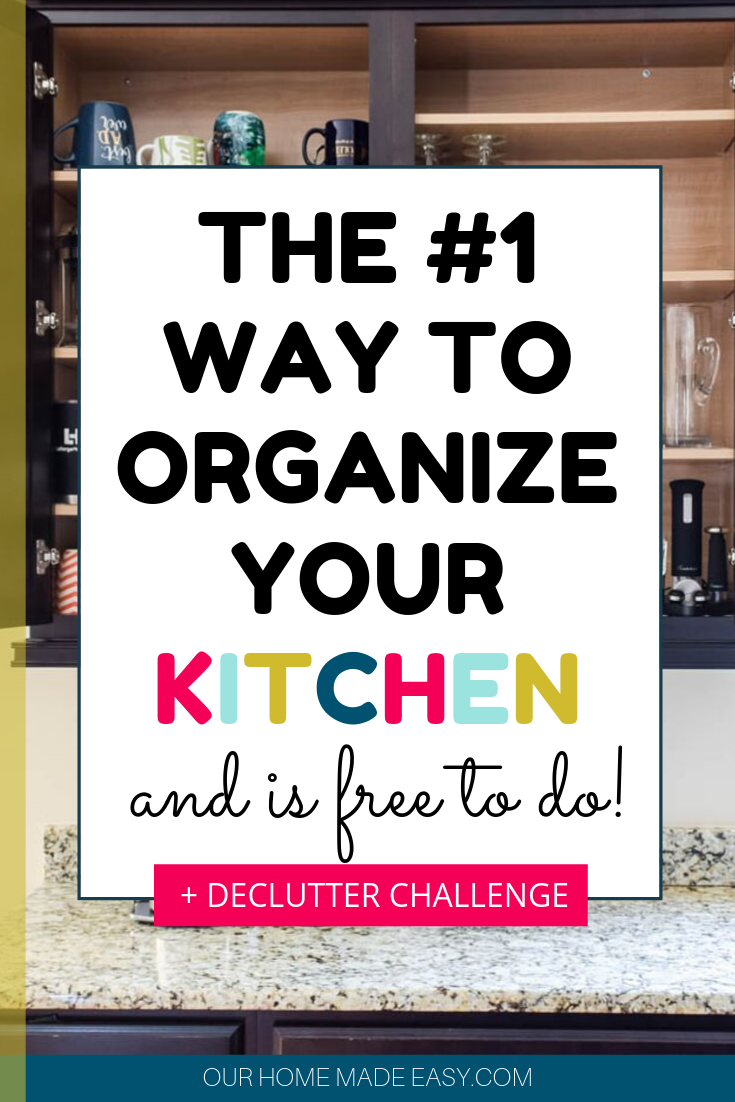 organize kitchen cabinets ideas clutter