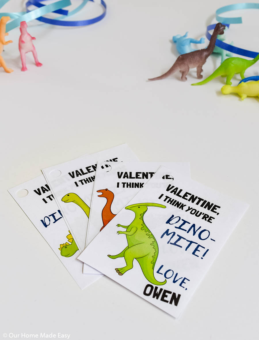 diy dinosaur valentines cards  our home made easy