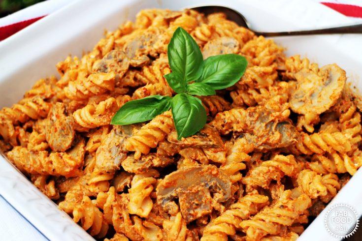 10 Minute Mushroom Pasta