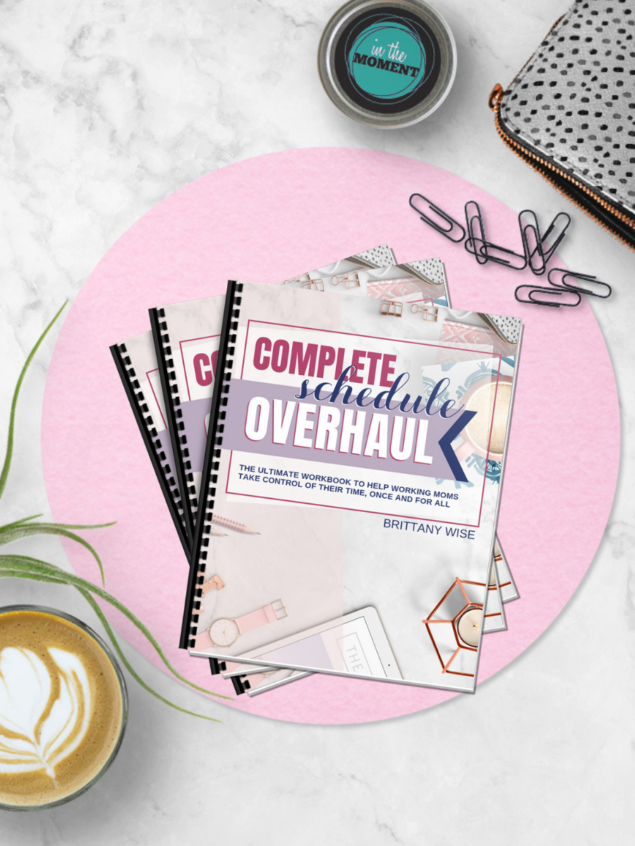 Take back your time with the Complete Schedule Overhaul workbook