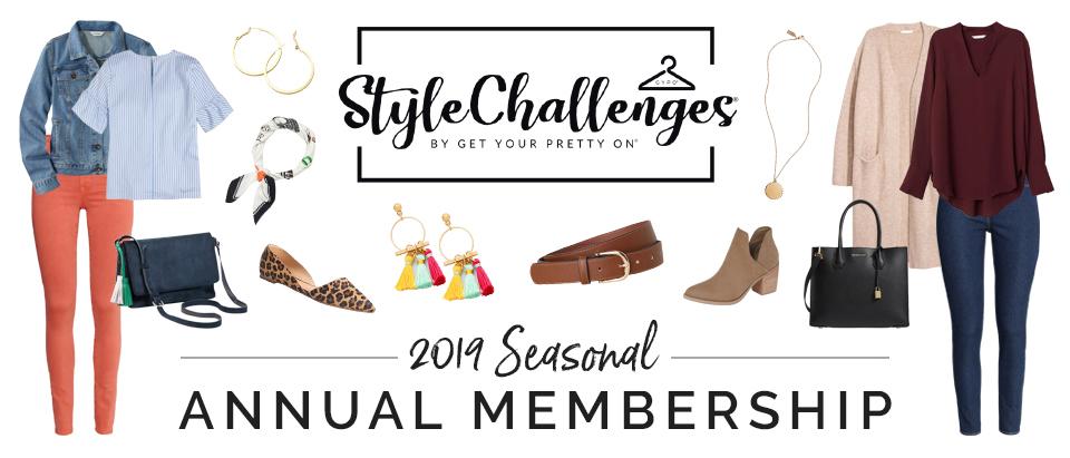 Style Challenges 2019 Seasonal Membership