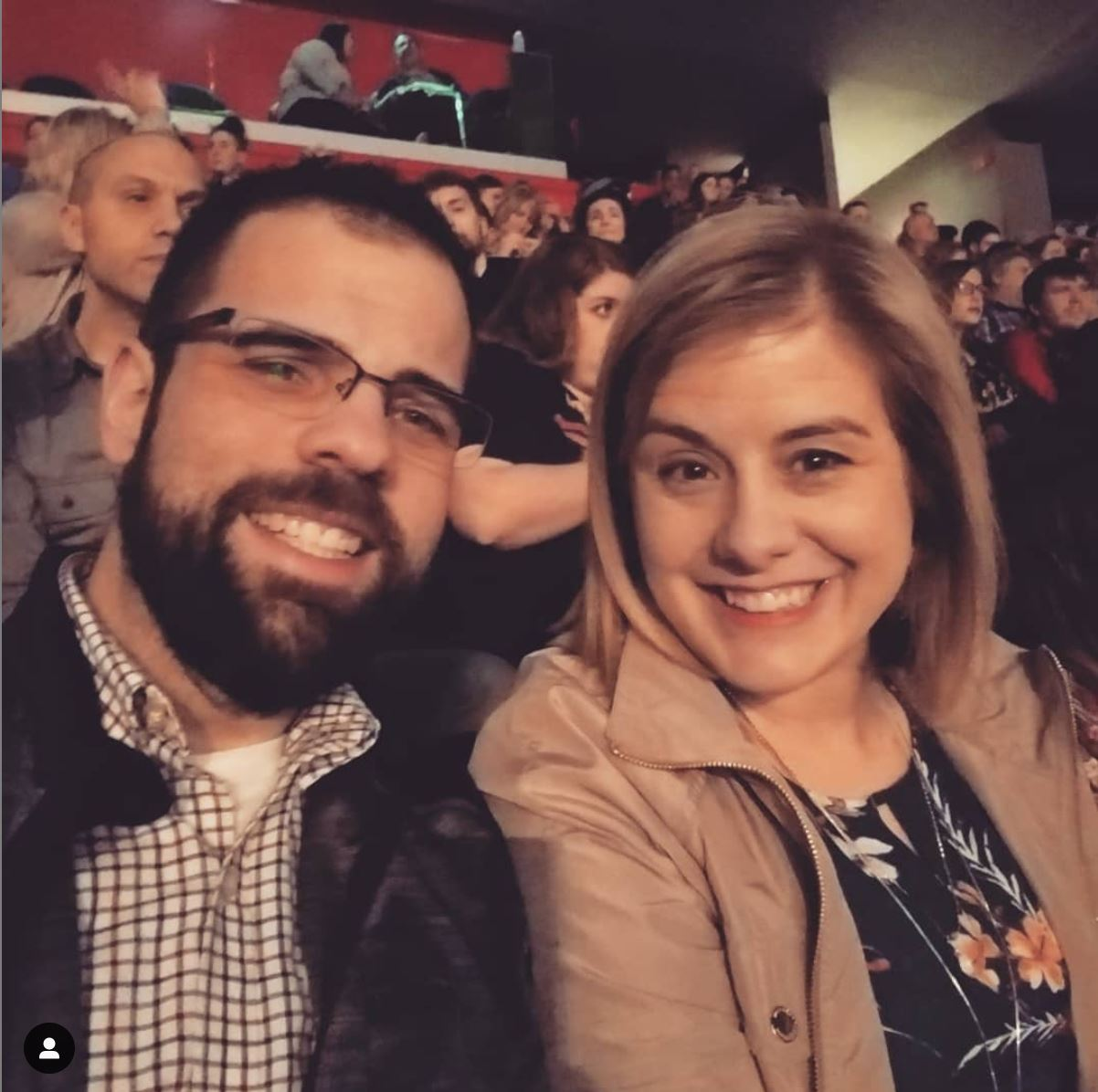 Brittany and Jordan enjoyed one last date night in downtown Ann Arbor to see Mumford & Sons