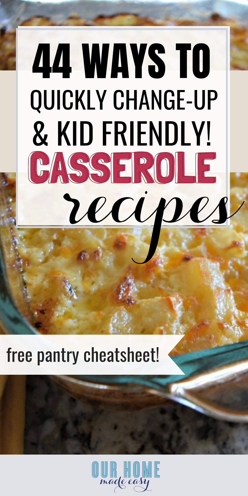 Easy ways to update your favorite casserole recipes with new flavors and ingredients
