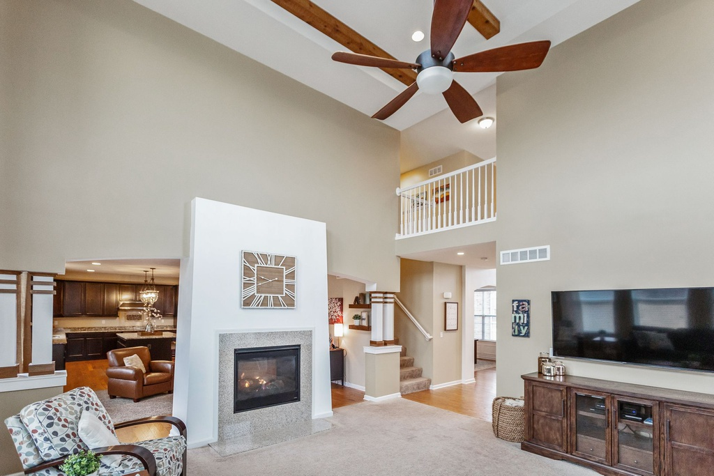 Make living spaces look bight and welcoming to help sell your home fast