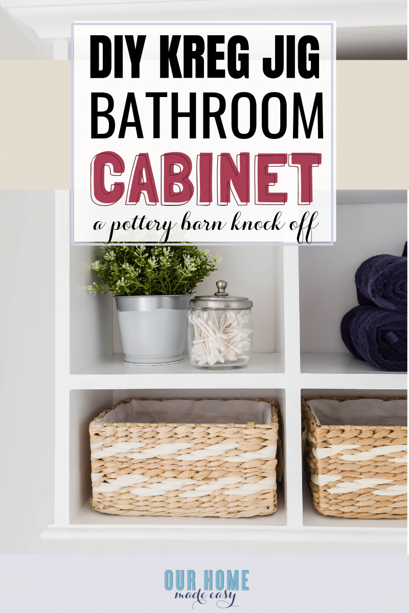 Diy Bathroom Wall Cabinet Our Home