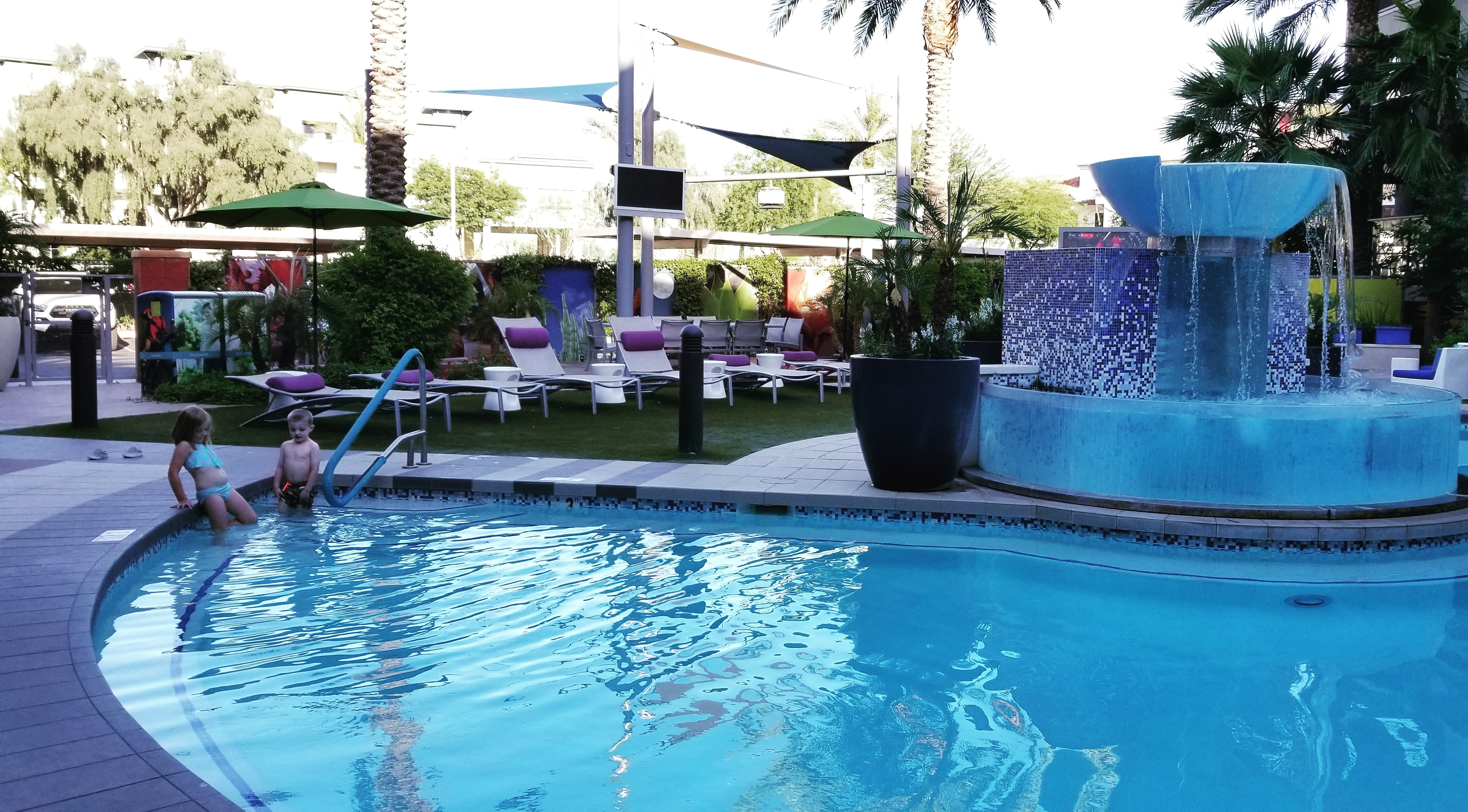 While your forever home may not have a pool, it's always good to enjoy some poolside fun on vacation