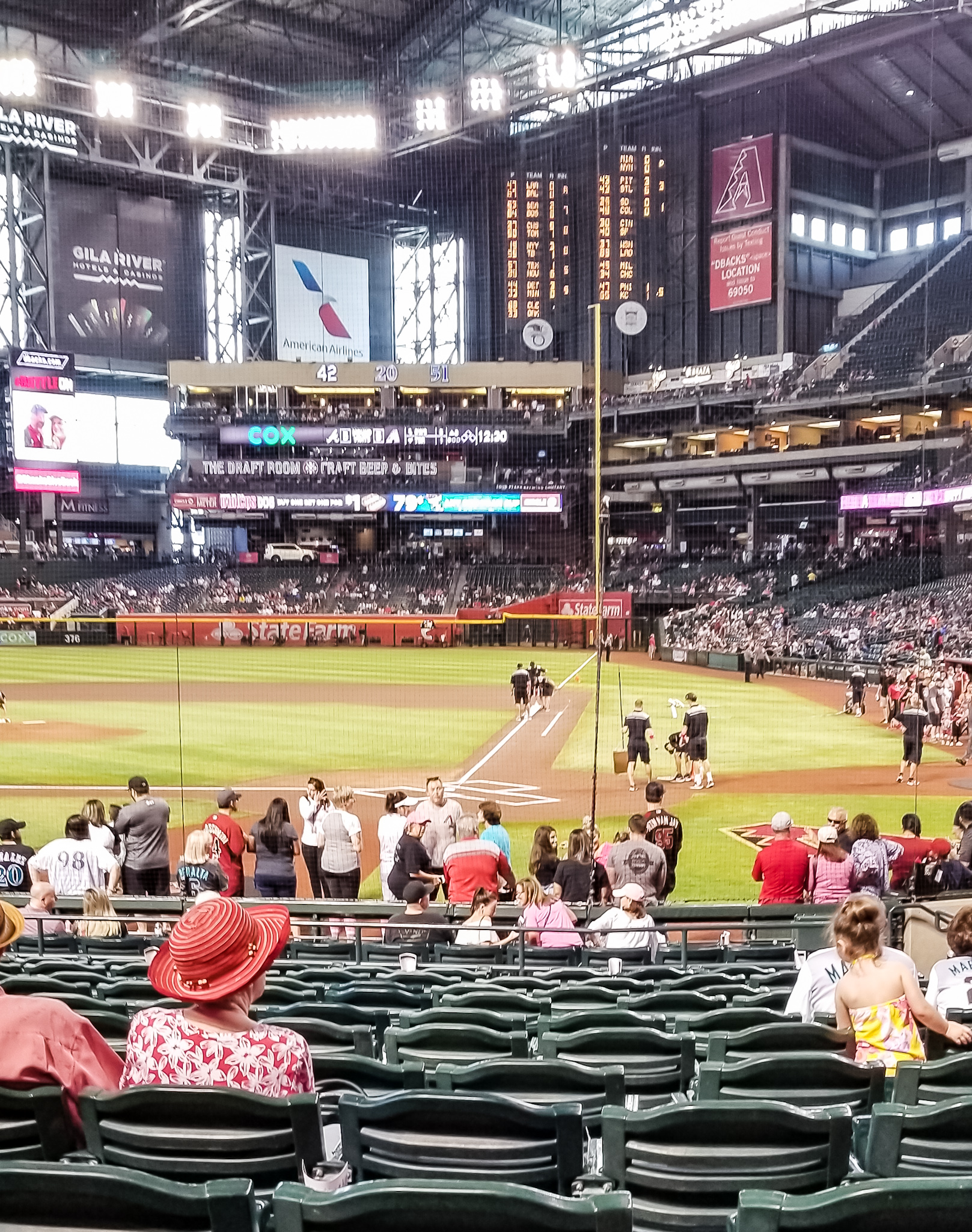 A baseball game with the family is a great way to get out and explore a new city