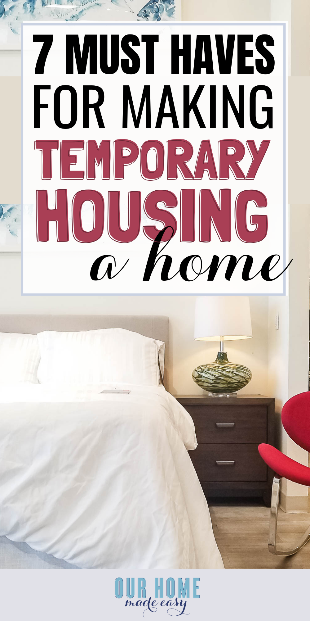 7 Must Have Home Decor Items to Make a Temporary House Feel Like Home