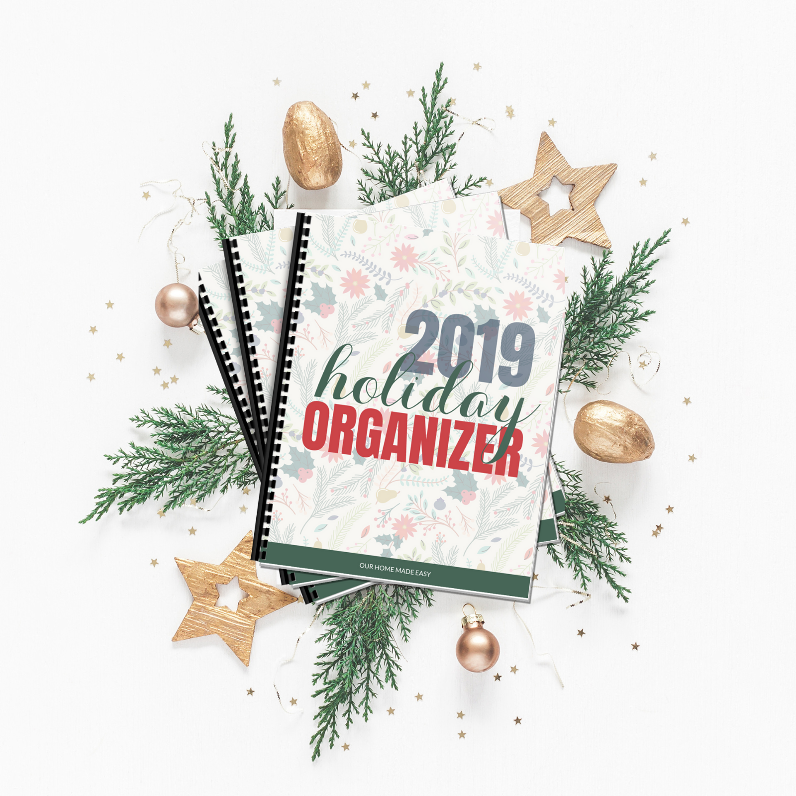 Our FREE printable Holiday Planner is the best way to organize your holiday planning from start to finish!