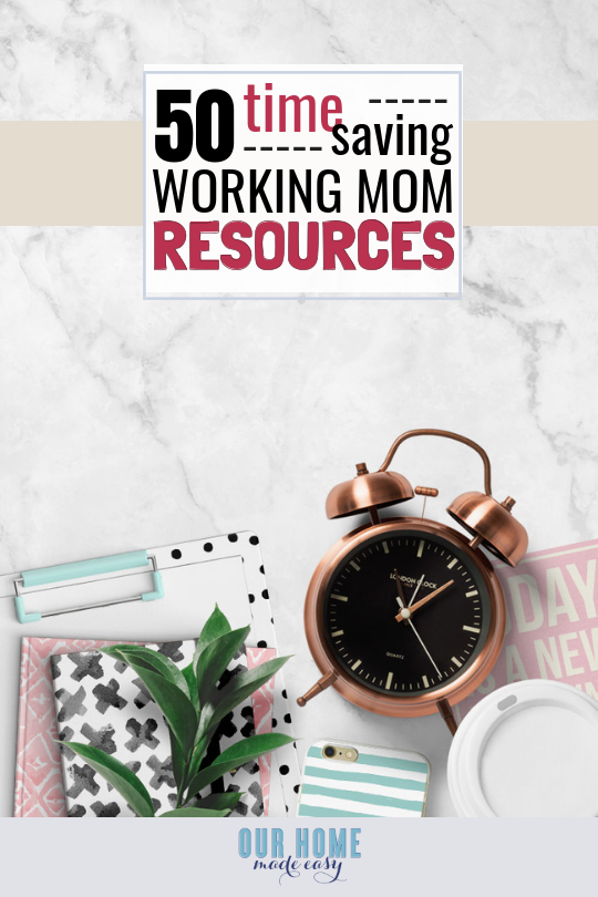 working moms ideas