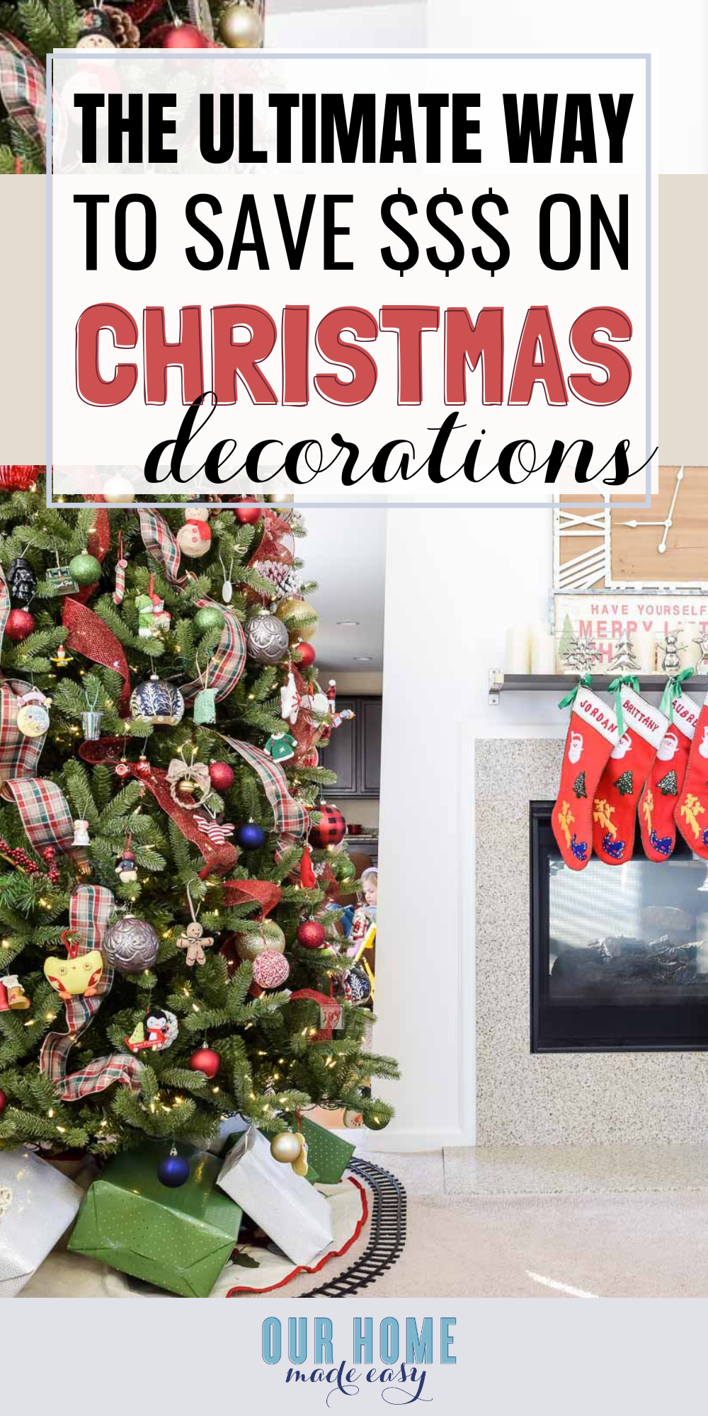 The Ultimate Way to Save Money on Christmas Decorations