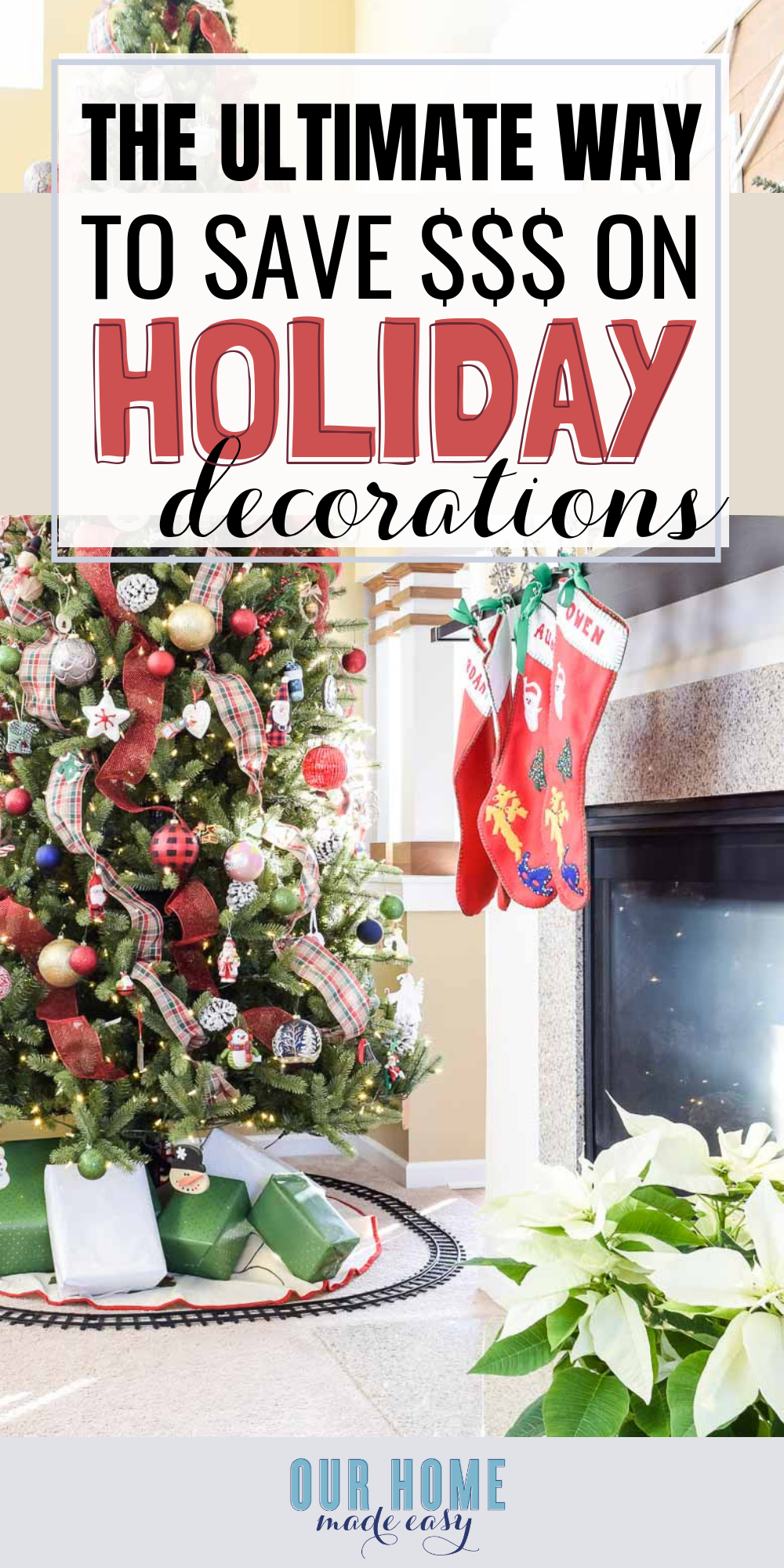 How to Decorate for the Holidays on a Budget: here's how to save money on your holiday decorating