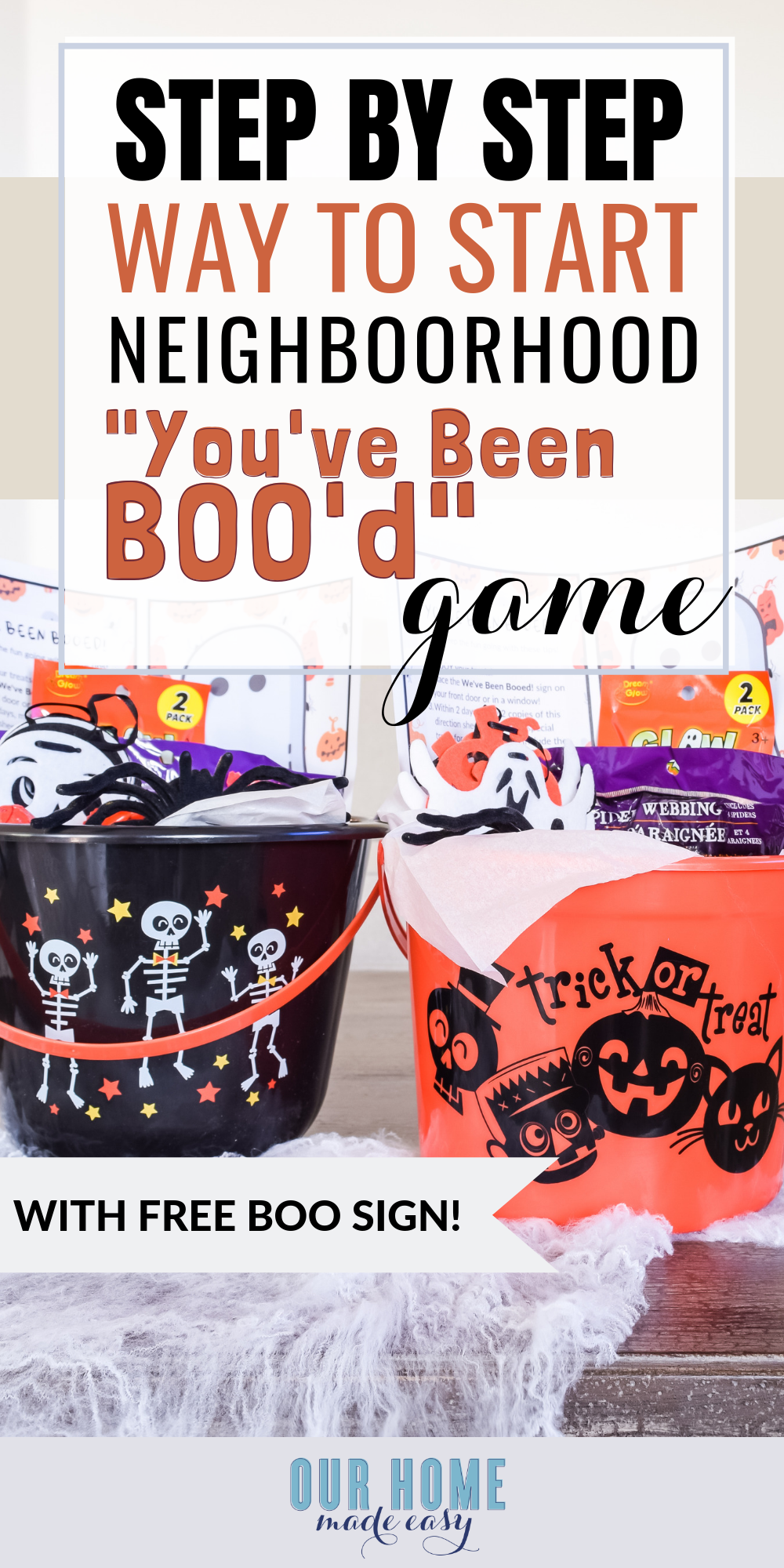 Have fun this Halloween with a simple You've Been Booed! activity. It's great when you are short on time and want to enjoy Halloween!