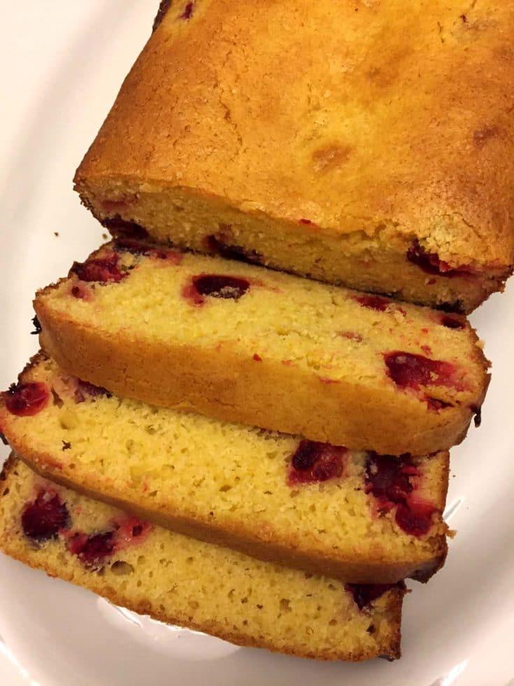 Cranberry Orange Bread – Best Holiday Loaf Cake Recipe Ever!