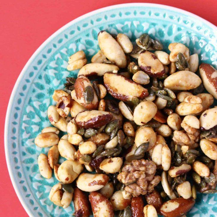 Candied Nuts (Vegan + GF)
